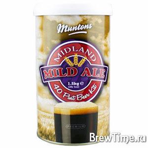 Набор Muntons Midland Mild Ale 1,5 кг.
