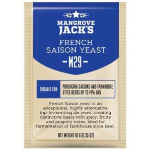 Дрожжи Mangrove Jack's M29 French Saison